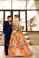 笑顔と感動の結婚式♡